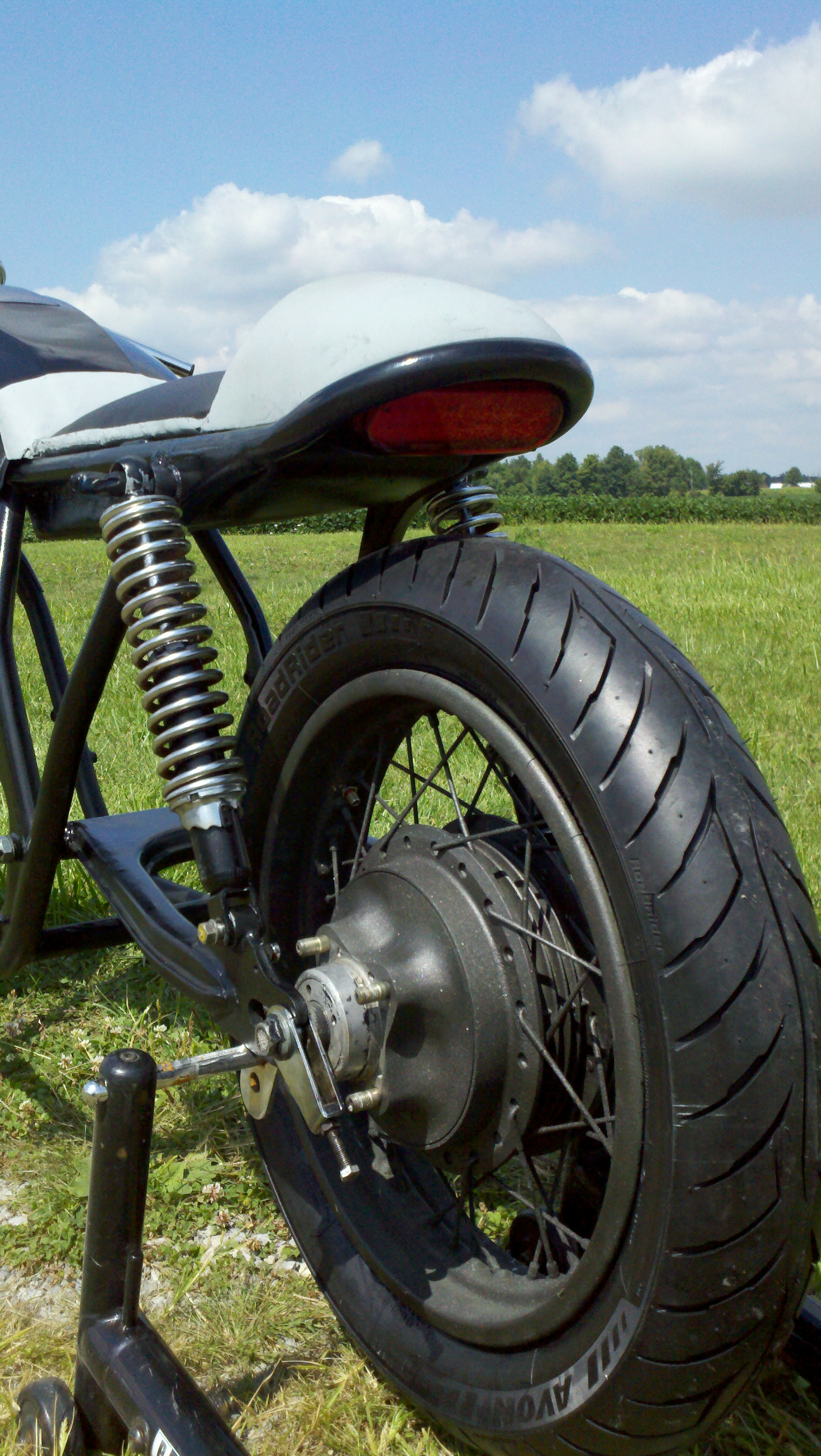 Honda Cb750 Cafe Racer Project Designed4racing